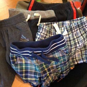 Lot of boys pants and shorts